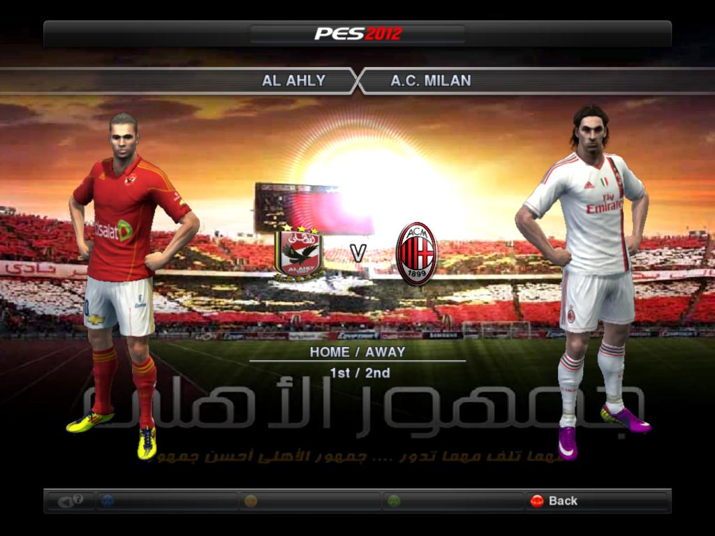 PES 2012 Patch AHLY EGYPT V 1